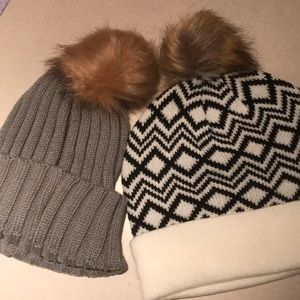Super cute NWT beanies two for the price of one